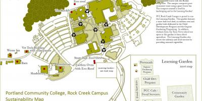 Mapa do PCC rock creek